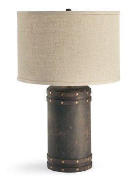 Barrel Table Lamp With Shade