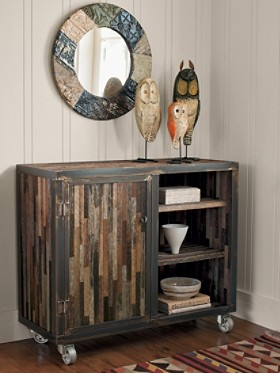 Reclaimed Barnwood Console