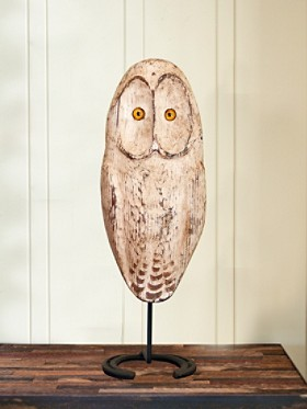 Handcarved Snowy Owl