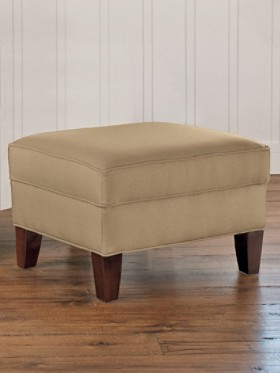 Eco-wise Wool Blair Ottoman