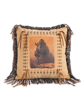 Buffalo Charge Pillow