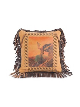 Buffalo Prayer Pillow