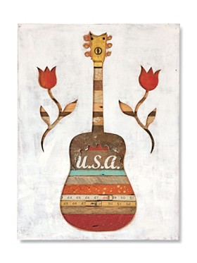 Made In The Shade Guitar Art