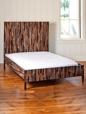 Reclaimed Barnwood Bed