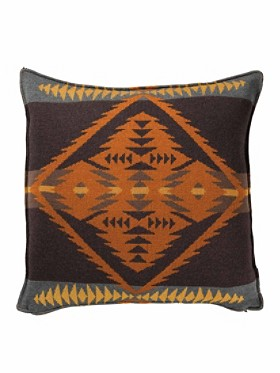 Diamond Desert Knit Pillow