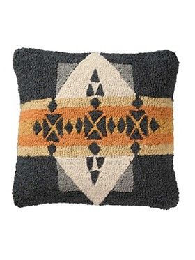 Arrowhead Hooked Pillow
