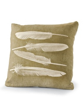 Four Feathers Pillow