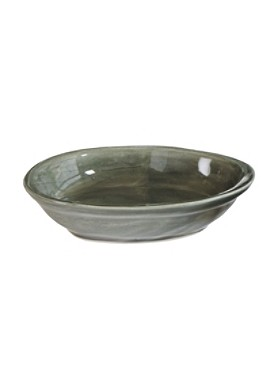 Earthenware Oval Soap Dish