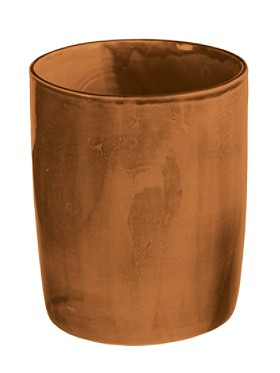 Earthenware Waste Basket