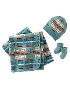 Chief Joseph Knit Layette Set