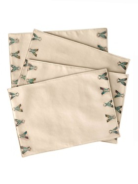 Tepee Placemats, Set Of 4