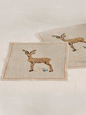 Deer Cocktail Napkins