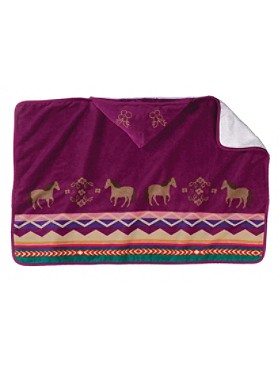 Painted Pony Hooded Baby Towel