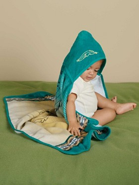 Dream Catcher Hooded Baby Towel