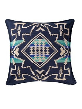 North Star Knit Pillow