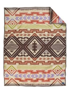 Sante Fe Saxony Blanket