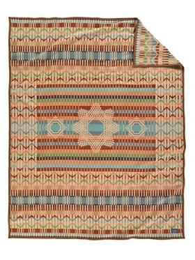 Quill Basket Blanket