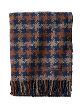 Thomas Kay Houndstooth Throw