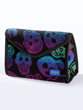 Large Sugar Skulls Cosmetic Case