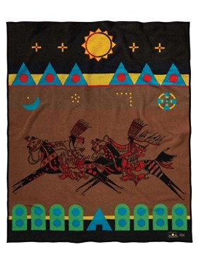 Lords Of The Plains Blanket