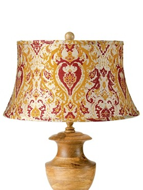Wide Hourglass Lamp Shade