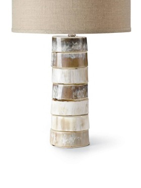 Stacked Horn Table Lamp Base