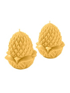 Pineapple Beeswax Candle