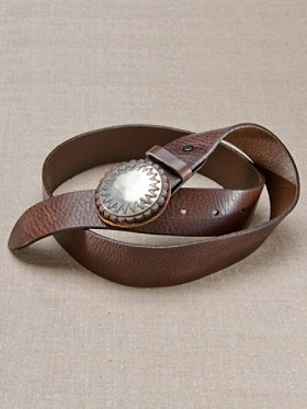 Concho Buckle Belt