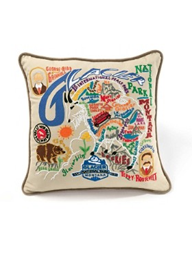 Glacier Park Pillow