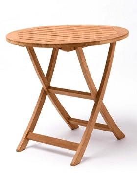 Teak Folding Cafe Table