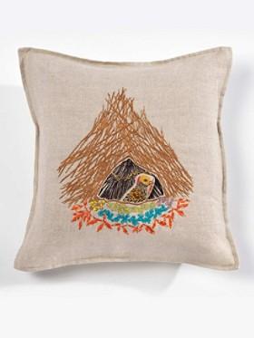 Bower Bird Pocket Pillow