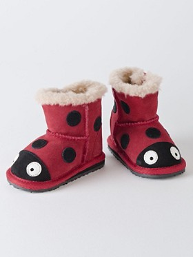 First Walkers Ladybird Booties