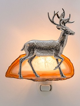 Stag And Agate Nightlight