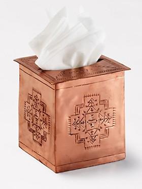 Chief Joseph Tissue Box Cover