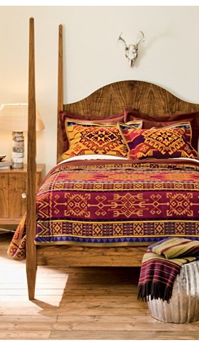 Abiquiu Sunset Blanket Collection