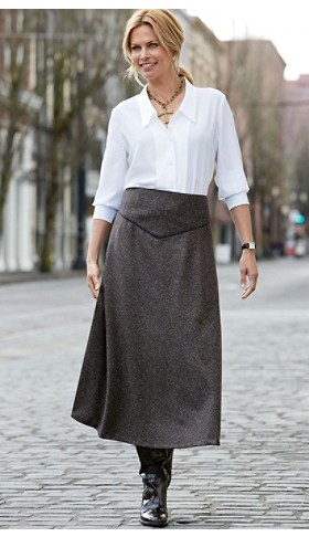 Donegal Tweed Touring Skirt