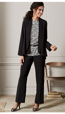 Travel Tricotine Cascade Blazer And Pants