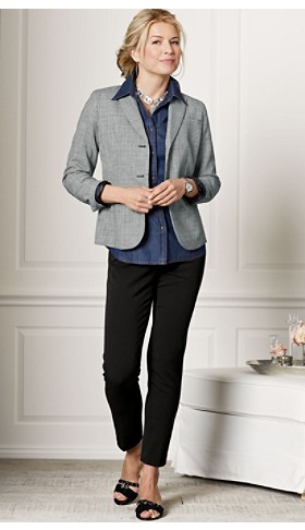 Seasonless Wool Suit Jacket