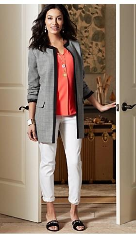 Seasonless Wool Claudia Jacket
