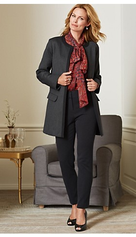 Seasonless Wool Claudia Jacket