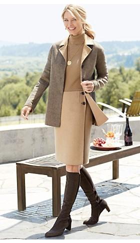 Doubletime Reverible Jacket And Skirt