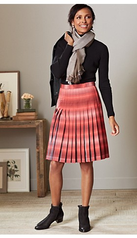 Pendleton Reversible Skirt