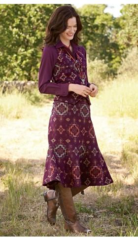 Gambler Girl Vest And Skirt