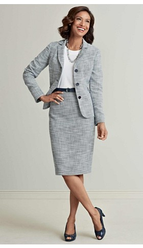 Tweed Jenny Jacket And Skirt