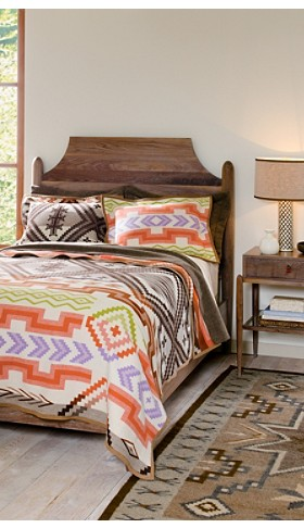 Santa Fe Saxony Blanket Collection