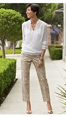 Pacifica Paisley Ankle Pants