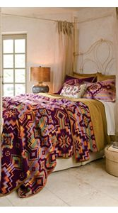 Beaded Bandolier Blanket Collection