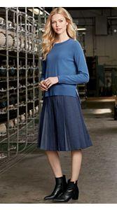 Perfect Pleat Skirt