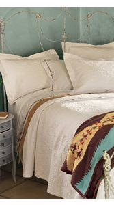 Natural Matelasse Bedding Collection