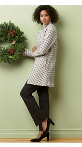 Cevron Stripe Jacket And Trousers